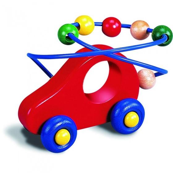 Walter kralenframe auto 16 cm multicolor
