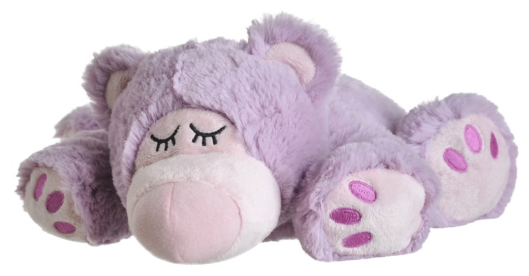 Warmies Sleepy Bear Lila 1 exemplaar