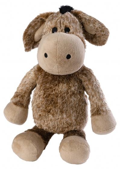 Warmies warmteknuffel ezel 37 cm bruin