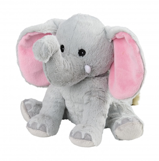 Warmies warmteknuffel olifant 29 cm grijs