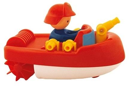 Waterworld Badfiguur Blusboot rood 13 cm