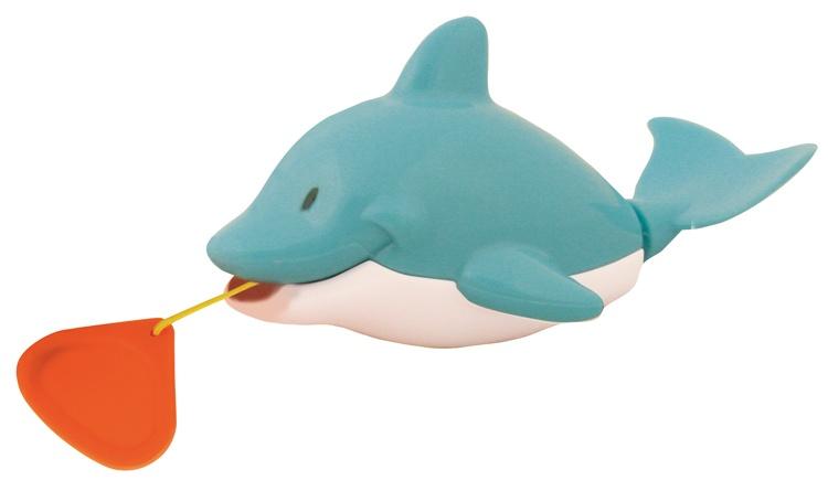 Waterworld Badfiguur Dolfijn blauw 8 cm