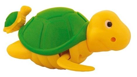 Waterworld Badfiguur Schildpad geel/groen 14 cm