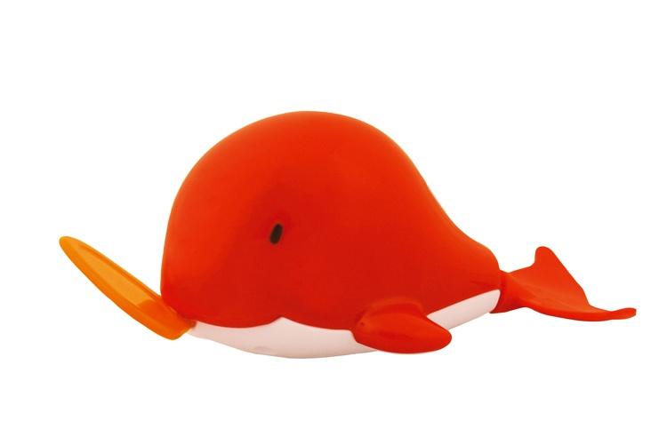 Waterworld Badfiguur Walvis rood 8 cm
