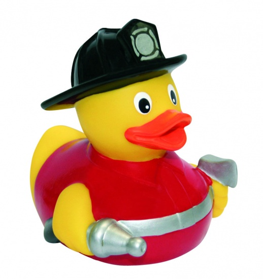 Waterworld Badeend: brandweer