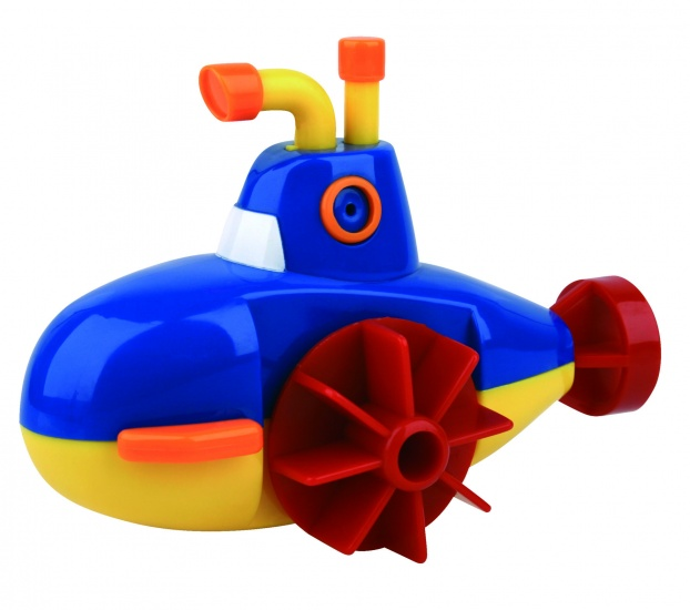 Waterworld Wind Up Duikboot Blauw