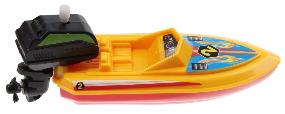 Waterzone Opwindbare speedboot geel