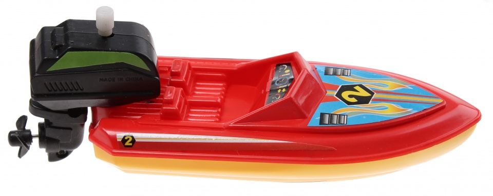 Waterzone Opwindbare speedboot rood