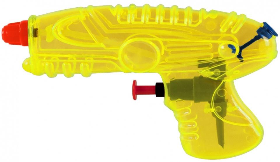 Waterzone waterpistool geel 15 cm