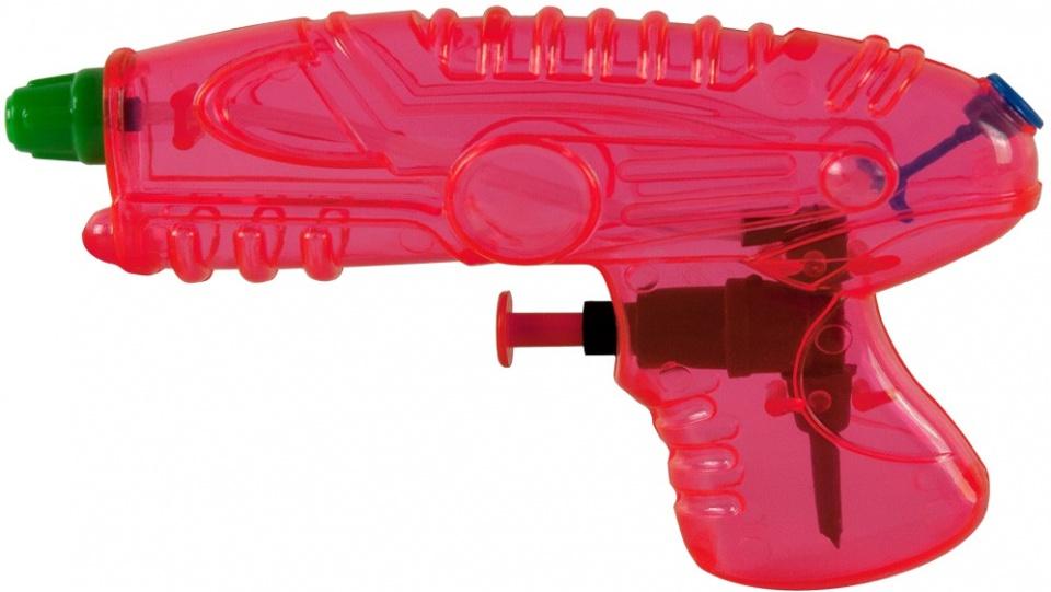 Waterzone waterpistool roze 15 cm