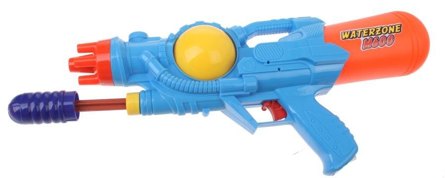 Waterzone Waterpistool M600 38 cm blauw