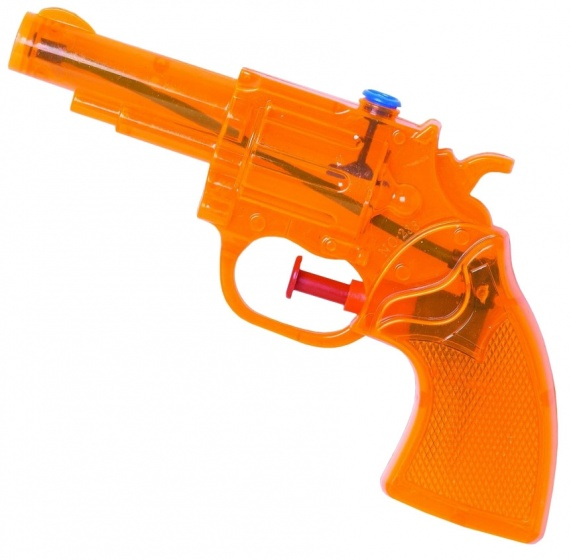 Waterzone waterpistool oranje 16 cm