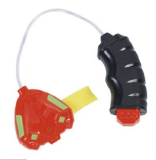 Waterzone waterpistool ''Wristpower'' 8 cm rood