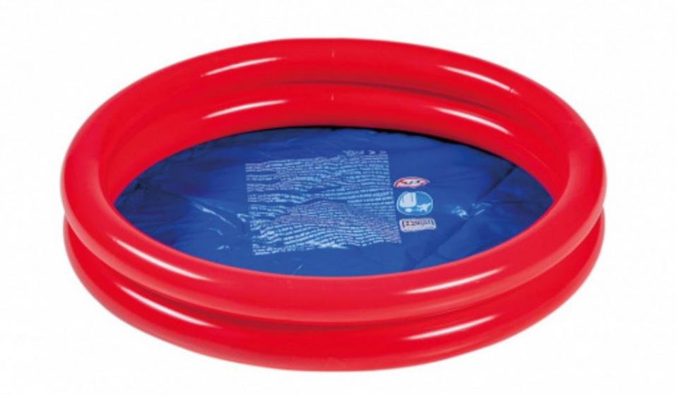 Wehncke opblaaszwembad junior 60 x 15 cm PVC rood/blauw