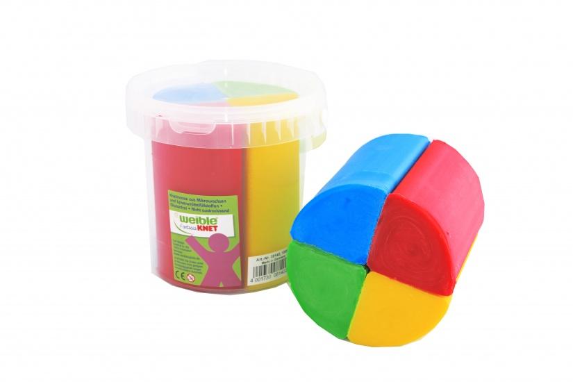 Weible Knet Fantasie Klei 4 Kleuren 1000 Gram