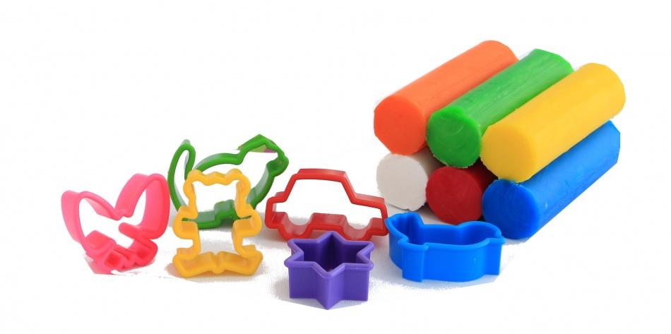 Weible Knet Fantasie Klei 6 Kleuren Met Accessoires 240gram