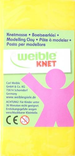 Weible Games Fantasie Klei Blokvorm 250 Gram Geel