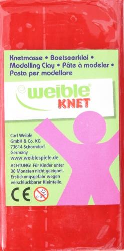 Weible Games Fantasie Klei Blokvorm 250 Gram Rood