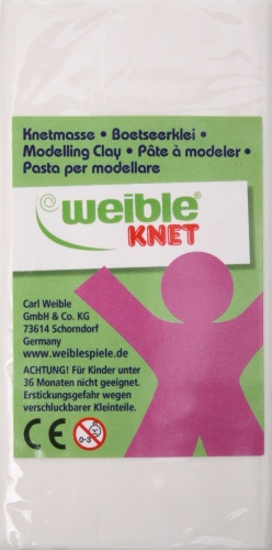 Weible Games Fantasie Klei Blokvorm 250 Gram Wit