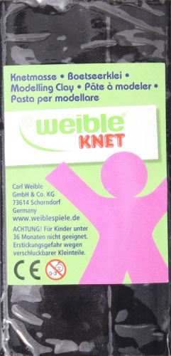 Weible Games Fantasie Klei Blokvorm 250 Gram Zwart