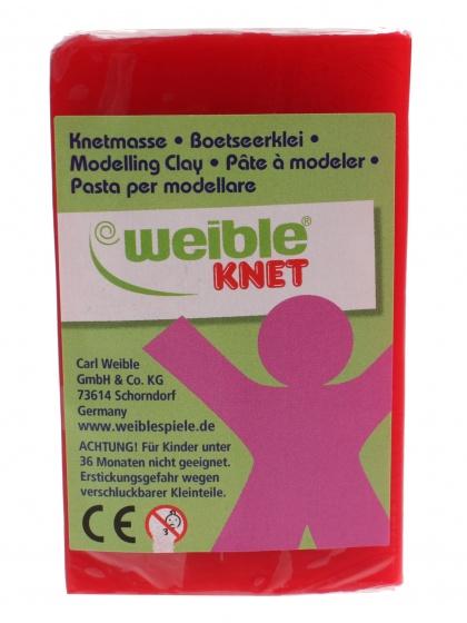 Weible Knet Fantasie Klei Blokvorm Rood