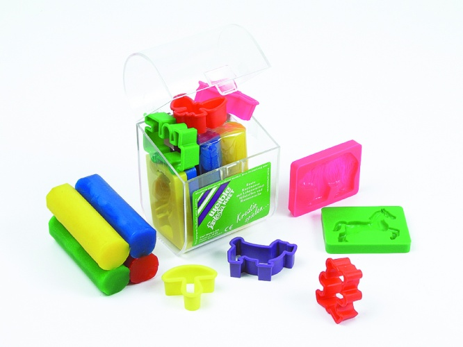Weible Games Fantasie Klei in Transparante Koffer