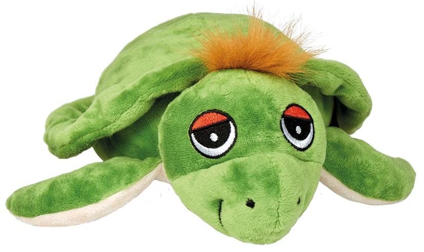 Welliebellies magnetronknuffel schildpad groot 35 cm groen