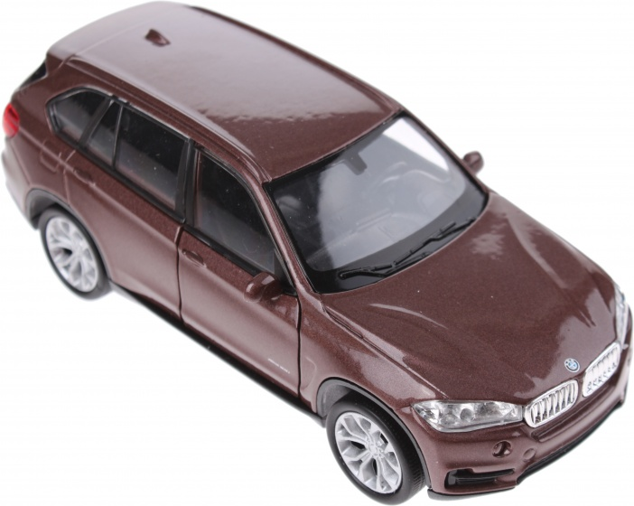 Welly metalen BMW X5 bruin 12 cm