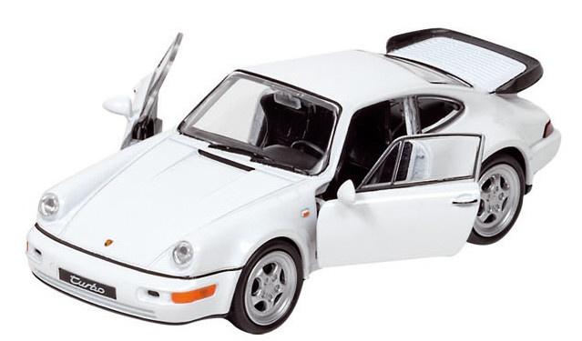 Welly Metalen Porsche 12 cm Wit