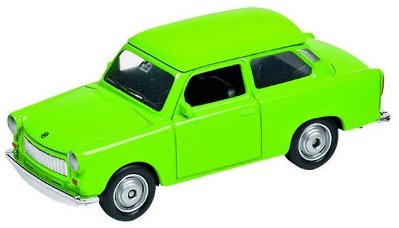 Welly Metalen Trabant 601: Groen