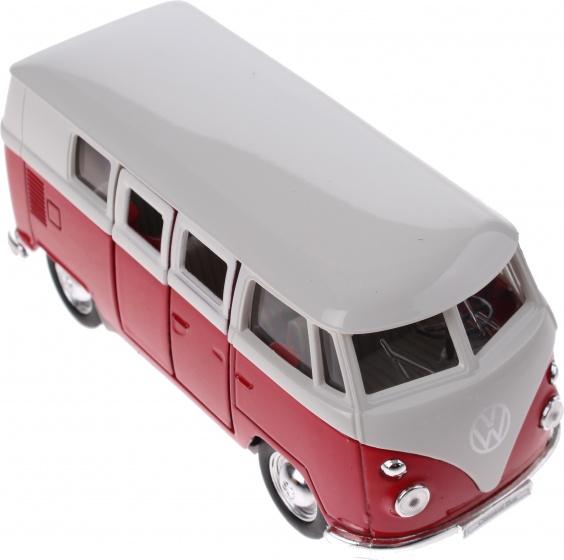 Welly metalen volkswagen bus rood 115 cm 197192