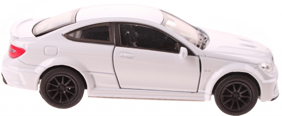 Welly schaalmodel Mercedes C63 AMG Coupe wit 11,5 cm
