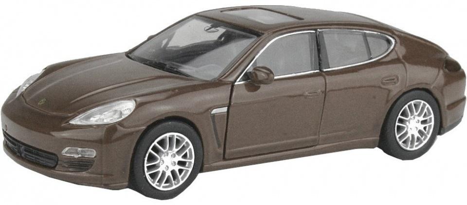 Welly schaalmodel Porsche Panamera S bruin