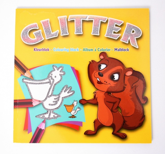 WH Kleurboek Glitter Eekhoorn