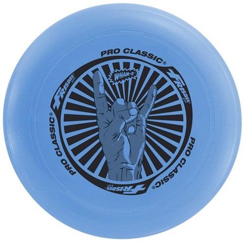 Wham o frisbee Pro Classic junior 25 cm 130 gram blauw