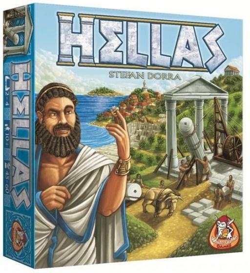 White Goblin Games gezelschapsspel Hellas