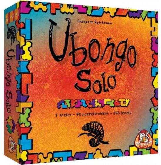 White Goblin Games gezelschapsspel Ubongo solo (NL)