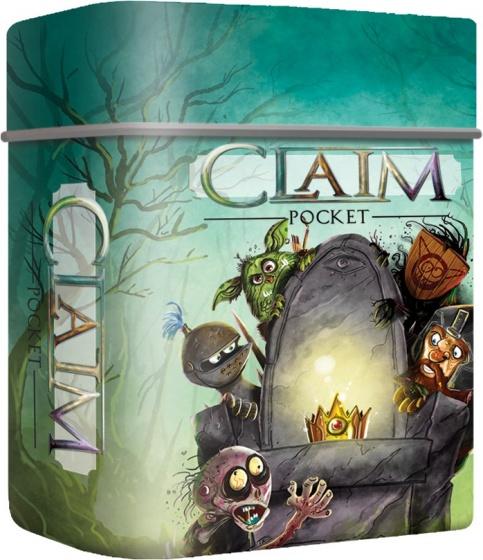 3583a65dbe1be4 White goblin games claim pocket claim pocket zit in een handig klein blikje  die met gemak