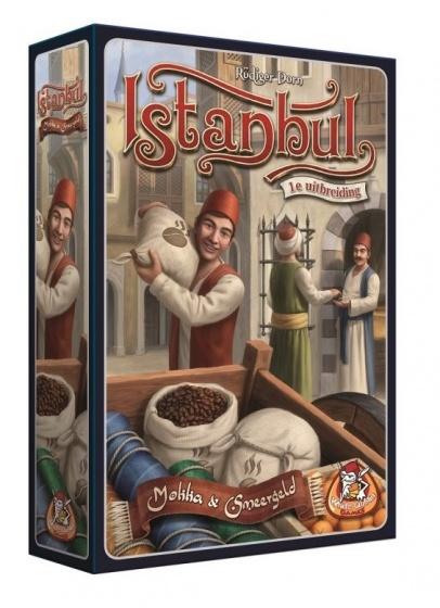 White Goblin Games uitbreiding Istanbul Mokka & Smeergeld