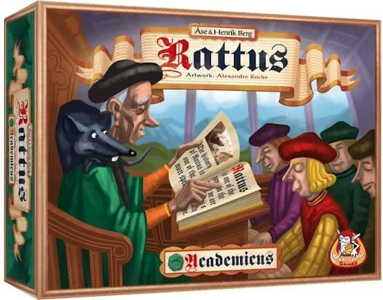 White Goblin Games uitbreiding Rattus: Academicus