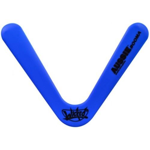 Wicked boomerang Booma Aussie 41 gram blauw 27 cm
