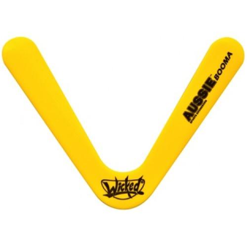 Wicked boomerang Booma Aussie 41 gram geel 27 cm