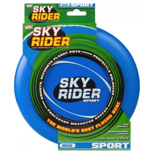 Wicked frisbee Sky Rider Sport 95 gram blauw 22 cm