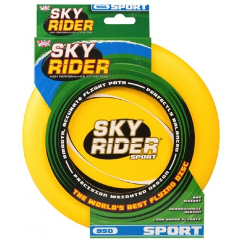 Wicked frisbee Sky Rider Sport 95 gram geel 22 cm