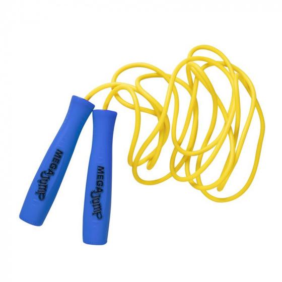 Wicked springtouw Mega junior 3 meter blauw/geel
