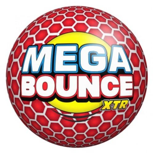 Wicked stuiterbal Mega Bounce XTR 7 cm rood 68 gram