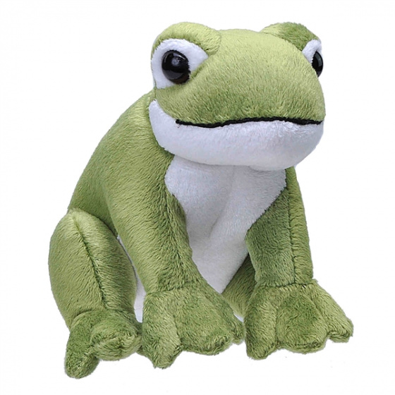 cuddly frog The Wild Calls 20 cm plush green