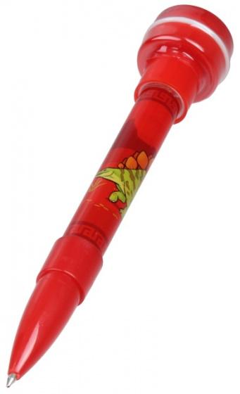 Wild Republic pen met stempel stegosaurus junior 12,7 cm rood