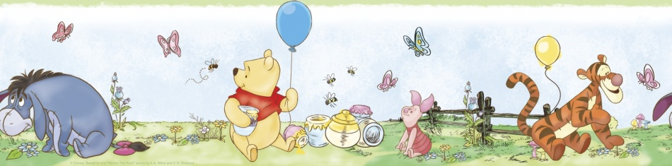 Winnie The Pooh Muursticker Roommates 24 x 16 x 3 cm