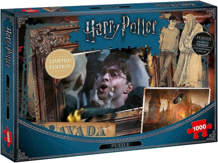 Winning Moves legpuzzel Harry Potter Avaka Kedavra 1000 stukjes